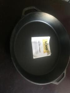 Lodge 17 Inch Cast Iron Skillets