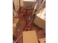 Hand Screen printing 2 colour Carousel Kit. (Carousel, lamp, screens etc)