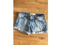 Hollister Light denim shorts- size small