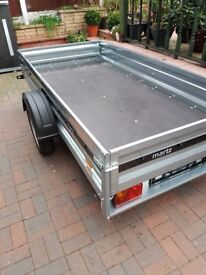 New trailer 750 kg single axle