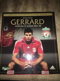 "Liverpool FC ""Steven Gerrard"" Limited Edition Signature Series 2007/2008 Home Shirt"