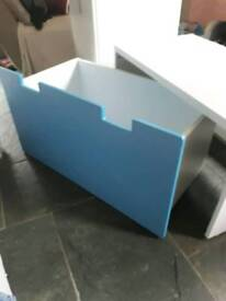 2 Ikea Stuva pull out toy boxs/desk
