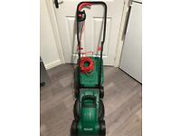 Qualcast 1200w electric rotary lawn mower hardly used lawnmower
