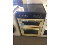graded belling 60cm dual fuel cooker
