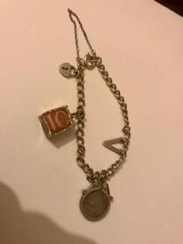 Vintage 1930-40s charm bracelet