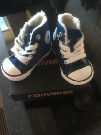 Converse brand new with box