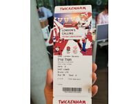 2 x tickets to 7s Rugby Twickers 2nd June