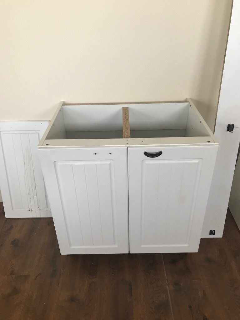 B&Q Cooke & Lewis 800mm free-standing kitchen unit cabinet with B&Q ...
