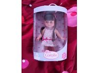 Genuine Corolle doll in original unopened pack, brand new giftable doll