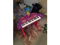 Peppa pig piano toy