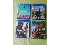 PS4 GAMES AND XBOX GAME