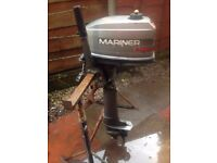 MARINER 5HP OUTBOARD LONGSHAFT MODEL