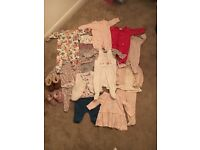 AS NEW bundle of clothes (Next, Laredoute, Mamas and Papas, Mothercare), newborn and 0-3 months