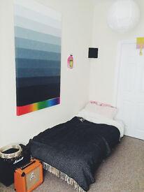 Lovely bedroom in a clean terraced house in Bensham, £326pcm, vegetarian household