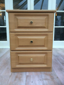 Bedside Tables (Pair) Deep drawer in nearly new condition