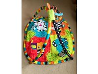 Bright start baby play mat / gym perfect for small spaces / travelling