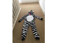 Marks and Spencer Zebra Sleeper or Costume
