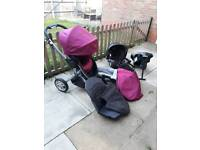 Graco Symbio B travel system pram pushchair