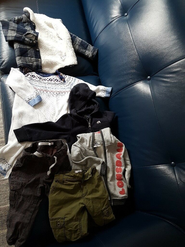 Winter clothes bundle 9 to 12,12 to 18 months ,boy,5 GBP