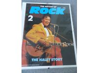 "Bill Haley - The Haley Story ""The History of Rock Vol. 2"" in clip-on glass frame"