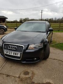 Audi A3 2.0TDI S Line Sportback 5d 1968cc S Tronic . Only 3 owners from new