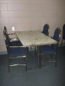Restaurant Tables and Chairs $75.00 per Set
