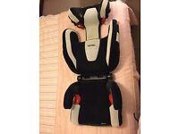 Recaro Monza child car seat with audio built it
