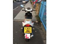 2015 125cc Moped fully working with new battery fitted