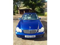 Mercedes-Benz C220 Automatic 4dr MOT 1year