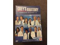 Greys Anatomy Season 1-5 brand new