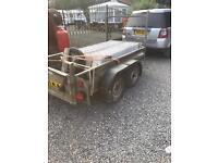 8x 4. Builders trailer. 2!ton gross weight