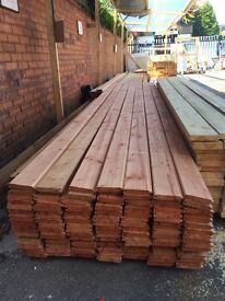 Treated tongue&groove cladding 18mmx100mx3.6m(12ft)