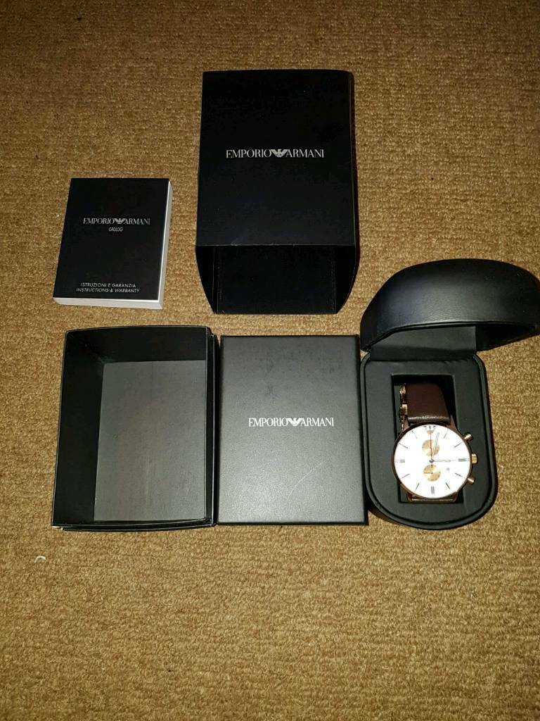 Armani watch excellent condition