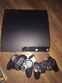 PS3 for sale £80 bundle with games and x2 controllers