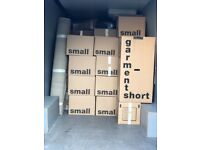 REMOVALS BOXES BUBBLE WRAP TAPES WARDROBE BOXES WRAPPING PAPER