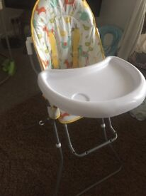 John Lewis Sheep and Duck Highchair