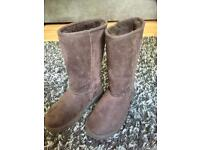 Designer style boots size 4