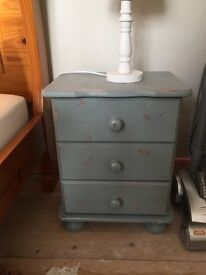 Solid wood bedside tables/ chest
