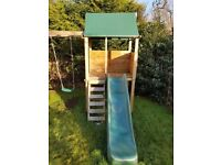 Squirrel Fort Outdoor Childs Climbing Frame