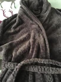 Marks and Spencer long dressing gown as new