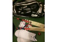 Cricket youth equipment