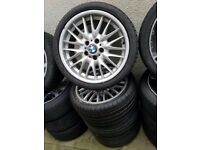 Bmw Mv1 Staggered 18'' Alloy Wheels Can Sell Singles Can Post Part Exchange Welcome