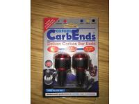 Carbon Motorbike Bar Ends