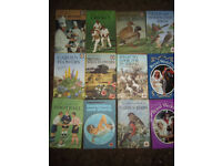 JOB LOT VINTAGE LADYBIRD BOOKS X 12