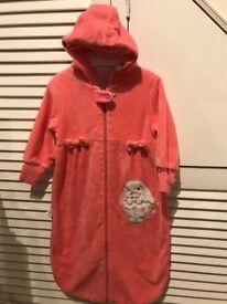 Pink grobag/ sleeping bag