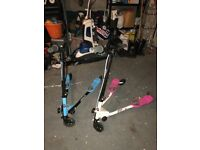 3 Wheel Slider Scooter (Blue and Pink)