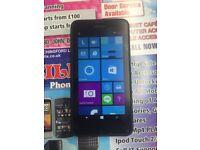 Nokia Lumia 635 Black unlocked to any network good condition