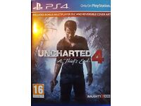 Uncharted 4 PS4 mint condition Pick up L8