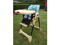Baby high chair chico