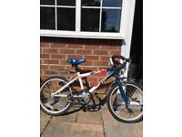 Team GB kids racing bike